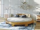 Смотреть фотографию  Круглая двуспальная кровать «Абсолют» 81376781 в Москве