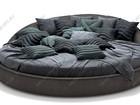 Свежее foto  Круглая двуспальная кровать «JAZZ» 82916190 в Москве