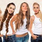 Продажа натуральных волос для наращивания, услуги наращивания