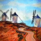 """Картина """"Ветреная Испания"""""""