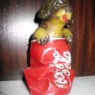 Статуэтка фигурка Собака в банке в коллекцию, сувенир