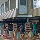 Подъем домов, Ремонт фундамента, Винтовые сваи