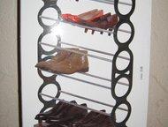 Подставка для обуви (этажерка), узкая, сборная Продаю переносную подставку для о