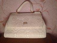 Продам женскую сумку Продам абсолютно новую элегантную сумку.   Сумка белого цве