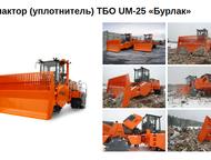 Компактор (уплотнитель) ТБО UM-25 «Бурлак» Уплотнитель (компактор) твердых бытов