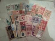 Купюры, СССР и других стран Купюры СССР от рубля до ста. И много купюр других ст