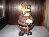 Статуэтка фигурка из металла Викинг с мечом в коллекцию, подарок Продаю разные с