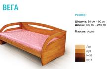 Кровати из массива берёзы и сосны
