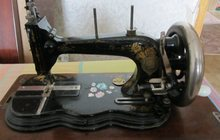 Антиквариат, швейная машинка 1870 г, в, им, Попова
