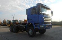 Седельный тягач Shaanxi Shacman 6x6, 430 л, с