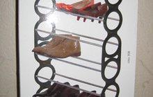 Подставка для обуви (этажерка), узкая, сборная