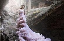 Уникальное платье ручной работы Воздушное Облако