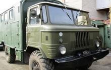 Грузовой автомобиль ГАЗ-66 фургон с хранения