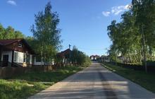 Участок у деревни Лукьяново в охраняемом обжитом поселке в 82 км от МКАД