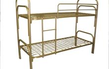 Армейские кровати металлические, Кровати для казарм, бараков, тюрем