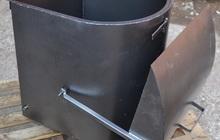 Шибер мусоропровода
