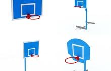 Баскетбольный щит с кольцом для улицы