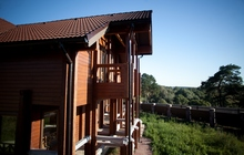 Продаем 2 этажный коттедж в поселке Сосновый Бор на территор