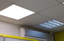 Ультратонкая светодиодная панель 36Вт Равномерный свет 595*595*8мм