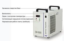 Струйный принтер UV охлаждается чиллером CW-5000 S&A