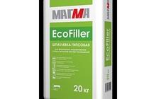 Гипсовая шпатлёвка EcoFiller 20 кг (56шт)