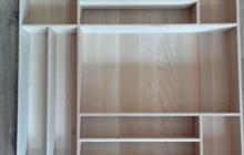 Лотки для столовых приборов встраиваемые в ящики кухни