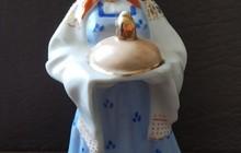 Фарфоровая статуэтка «Добро пожаловать» (Хлеб-соль)