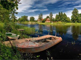 Свежее фото Земельные участки Дачный участок в деревне у реки 31381365 в Москве
