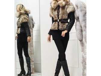 Просмотреть изображение Женская одежда Зимняя женская куртка Moncler 32101233 в Москве
