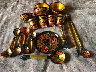 Новое foto Антиквариат Хохлома 19 предметов 32353523 в Москве
