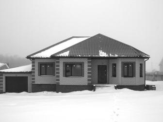 Уникальное фото Загородные дома Продам 1-этажный коттедж 116 м2, на участке 18 соток, п, Таврово-8 32376650 в Белгороде