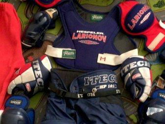 Увидеть фото Спортивная одежда продам детскую хоккейную форму б/у 32376918 в Москве
