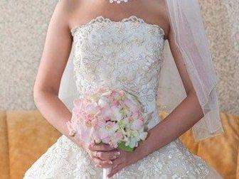 Новое foto Другие предметы интерьера Супер свадебное платье в отл, состоянии, 32402691 в Москве