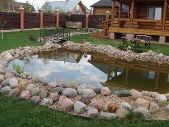 Скачать бесплатно фотографию  Строительство водоема и декоративная кладка камня 32467939 в Москве