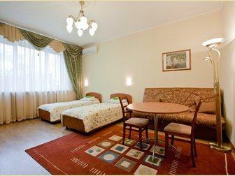 Просмотреть изображение Гостиницы, отели Комфорт по низким ценам в мини-отеле «На Белорусской» 32501643 в Москве