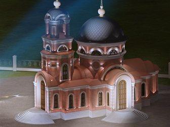 Скачать бесплатно фото  Архитектурная подсветка 32554162 в Москве