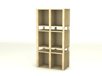 Скачать бесплатно foto Мебель для гостиной Система стеллажей Step 32565485 в Москве