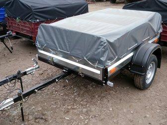 Свежее фотографию Прицепы для легковых авто Прицеп для легкового авто Курган КМЗ-8284-20 32622508 в Москве