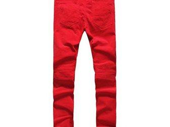 Просмотреть foto Мужская одежда Джинсы Pierre Balmain Red 32630578 в Москве