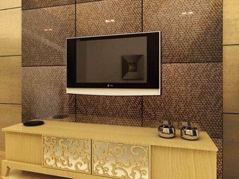 Увидеть foto  Декоративная дизайнерская панель 3D Artpole, коллекция 3D стекло, 1468 Big Casting, 32642280 в Москве