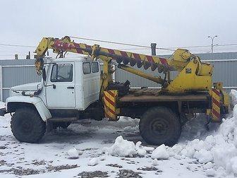 Просмотреть изображение Буровая установка Ямобур ГАЗ 33081 (садко), БКМ-302, Isuzu, Урал 32650341 в Москве