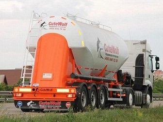 Скачать фото Цементовоз Алюминиевый цементовоз GuteWolf 32671611 в Москве