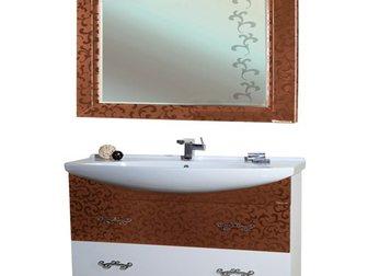 Скачать фото Мебель для ванной Тумба с раковиной Bellezza Маргарита 85 32695627 в Москве