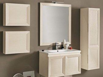 Просмотреть foto Мебель для ванной Тумба с раковиной Eban Paola 80 32695869 в Москве