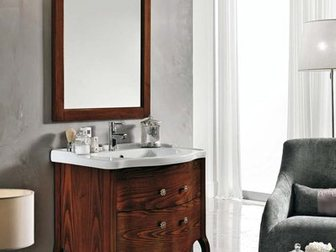 Увидеть фотографию Мебель для ванной Тумба с раковиной Eban Sonia 75 32695963 в Москве