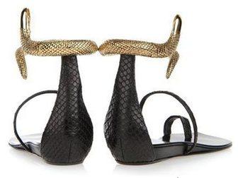 Скачать бесплатно фото Женская обувь Босоножки Giuseppe Zanotti Snake 32814666 в Москве