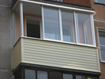 Новое фотографию Двери, окна, балконы Остекление лоджий,балконов, Отделка,утепление 32817303 в Москве