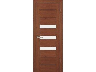 Скачать foto  Межкомнатная дверь Топ-Комплект, серии Дебют, коллекция Сирена, Экошпон вишня ПО, 32871208 в Москве