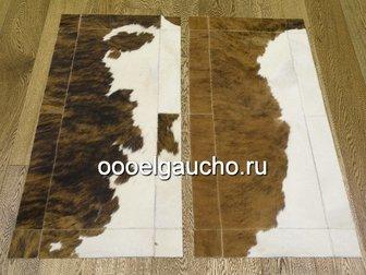 Свежее фотографию Ковры, ковровые покрытия Прикроватные коврики из шкур коров 32884028 в Москве