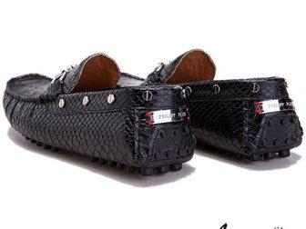 Смотреть изображение Мужская обувь Мокасины Philipp Plein Reptile 32904797 в Москве